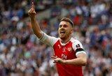 """A.Ramsey po šio sezono greičiausiai paliks """"Arsenal"""""""