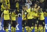 """""""Borussia"""" Vokietijos čempionate į savo sąskaitą įsirašė antrąją pergalę"""