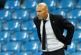 """Z.Zidane'as patvirtino: """"Real"""" naujokų nepirks"""