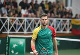 Vilniuje – Lietuvos teniso čempionatas ir Prezidento taurės varžybos, gali atvykti ir L.Grigelis