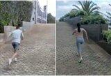Nuostabioji treniruočių partnerė: C.Ronaldo pasidalijo dar vienu internetą užkariavusiu vaizdo įrašu