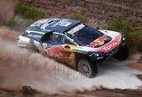 """Intrigos Dakaro legendų tarpe: C.Sainzui skirta bauda, """"Peugeot"""" ruošia apeliaciją"""