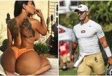 """Porno žvaigždė prisiėmė nuopelnus dėl fantastiško """"49ers"""" sezono: """"Viskas, prie ko prisiliečiu, virsta auksu"""""""