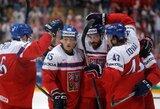 Čekai pasaulio ledo ritulio čempionate tapo grupės nugalėtojais ir atvėrė duris danams į ketvirtfinalį