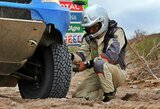 Dakaro pabaiga: V.Žalos ekipažas dėl variklio turbinos gedimo neįveikė dešimtojo etapo