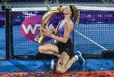 Neįtikėtinai išsigelbėjusi 18-metė ukrainietė laimėjo WTA turnyrą Tailande