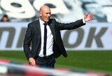 """Pirmą kartą Ispanijoje su """"Real"""" 4įvarčius praleidęs Z.Zidane'as: """"Tai mano klaida. Viską darėme blogai ir man sunku suprasti mūsų pasirodymą"""""""