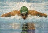 Pasaulio plaukimo taurės etape Eindhovene T.Duškinas – 12-as