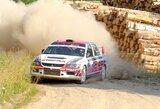 """Greičiausi """"300 Lakes Rally"""" ekipažai pasidalijo starto pozicijas"""