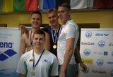 Jaunieji Lietuvos plaukikai dominuoja Baltijos čempionate
