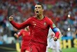 """Įvartį įmušęs C.Ronaldo """"įstojo"""" į elitinių futbolininkų klubą"""