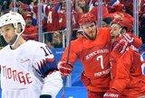 Rusai lengvai žengė į olimpiados pusfinalį