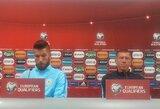 """Slovėnijos rinktinės treneris prieš akistatą su Lietuva: """"Turime būti susikoncentravę visas rungtynes"""""""