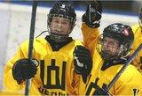 Pasaulio čempionate Lietuvos rinktinėje žibančiai 16-metei – išskirtinis IIHF straipsnis