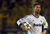 """""""Manchester City"""", """"Chelsea"""" ir PSG ketina kovoti dėl S.Ramoso"""