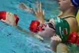 Paskutinę plaukimo varžybų Prancūzijoje dieną R.Meilutytė pelnė dar du medalius, J.Ščerbinskaitė - bronzą