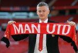 """O.G.Solskjaeras paaiškino, kodėl """"Man United"""" neįsigijo pamainos išvykusiam R.Lukaku"""