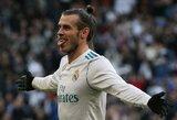 """R.Giggsas neslėpė susižavėjimo G.Bale'u: """"Kuo svarbesnės rungtynės, tuo jis geriau jose pasirodo"""""""