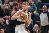 """NBA analitikas """"Per artimiausius metus Sabonis bus vienas geriausių žaidėjų"""""""