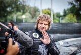 Italijoje pusę greičio ruožo avariniu būdu važiavęs B.Vanagas finišavo devintas