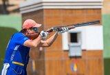 Pasaulio šaudymo į skrendančius taikinius čempionate R.Račinskas aplenkė daugiau nei 90 varžovų