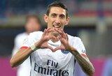 A.Di Maria dubliu prisidėjo prie solidžios PSG pergalės