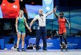 Europos žaidynių aštuntfinalyje – rimti iššūkiai imtynininkėms (papildyta)