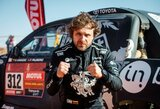 Dakaro ralis: B.Vanagą ir V.Žalą skyrė tik 68 sekundės, E.Juškauskui ralis greičiausiai baigėsi