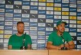 """L.Pilibaitis prieš atsakomąsias rungtynes su """"Apollon"""": """"Svarbiausia išlikti komanda"""""""
