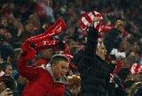 """Europos lyga: """"Rangers"""" krito Maskvoje po įvarčių lietaus, """"Sevilla"""" laimėjo nepaisant raudonos kortelės"""