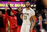 """""""Pelicans"""" iškovojo trečiąją pergalę iš tiek pat galimų"""