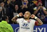 """8 iš eilės nelaimėtų rungtynių seriją nutrauką """"Lyon"""" iškovojo gyvybiškai svarbią pergalę"""