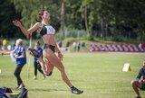 Šuolininkai L.Garšvaitė ir A.Bukauskas sužibėjo lengvaatlečių jaunimo čempionate