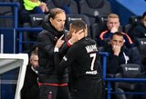 """PSG treneris prabilo apie žvaigždės K.Mbappe isterijas: """"Tokios situacijos neturėtų kartotis"""""""