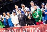 Pasaulio bokso čempionate daugiausiai medalių iškovojo kubiečiai