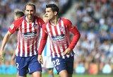 """Oficialu: """"Atletico"""" pasiekė susitarimą su """"Chelsea"""" išpirkti A.Moratos kontraktą"""