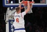 NBA įgūdžių konkurse – K.Porzingis, aukštaūgiai ir 175 cm ūgio įžaidėjas