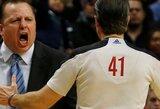 """JAV rinktinės trenerių štabą papildė """"Bulls"""" ir """"Pelicans"""" strategai"""