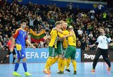 Istorinis įvykis: FIFA patikėjo Lietuvai surengti pasaulio salės futbolo čempionatą!
