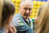 """A.Skarbalius apie Lietuvos moterų rankinio rinktinės laukiantį startą: """"Tikslas turėtų būti pasipriešinti elitui"""""""