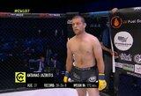 "V.Pisarkas pergalingai debiutavo MMA narve, A.Jazbutis kovėsi ""Cage Warriors"" turnyre"