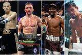 Top 15: stipriausiai smūgiuojantys pasaulio boksininkai pusvidutinio svorio kategorijoje