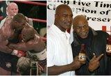 E.Holyfieldas paskelbė apie sugrįžimą į ringą ir užsiminė apie trilogiją su M.Tysonu
