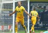 """H.Kane'as 88-ąją minutę išplėšė """"Tottenham"""" pergalę prieš """"West Brom"""""""