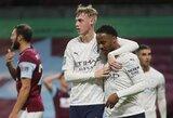 """""""Carabao"""" taurė: """"Man City"""" sutriuškino """"Burnley"""" futbolininkus"""