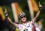 """Tryliktąjį """"Tour de France"""" etapą laimėjo W.Barguilas, favoritai finišavo kartu"""