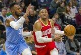 R.Westbrookas sužaidė geriausias sezono rungtynes, J.Hardenas – blogiausias