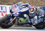 """Trasos rekordą Čekijoje pagerinęs J.Lorenzo antrą kartą šiemet pirmas pradės """"MotoGP"""" lenktynes"""