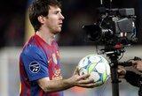 """L.Messi: """"Savo gyvenimą paskyriau futbolui"""""""