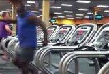 Neįtikėtinas bėgimo takelių šokėjas
